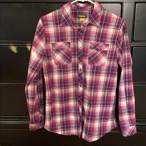 Cabela's medium flannel shirt